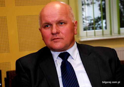 Szkołę podczas sesji Rady Powiatu reprezentował dyrektor Marek Majewski. - marek_majewski_turobin