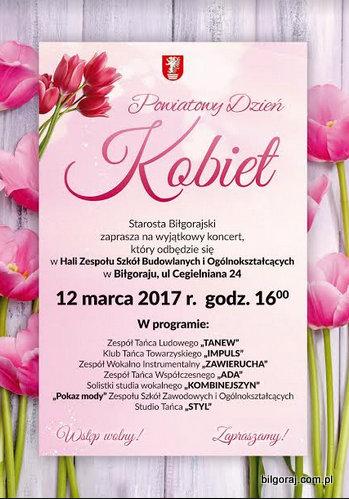 Powiatowy Dzieñ Kobiet w Bi³goraju.