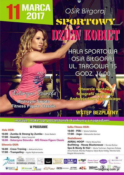 Sportowy Dzieñ Kobiet na OSiR.