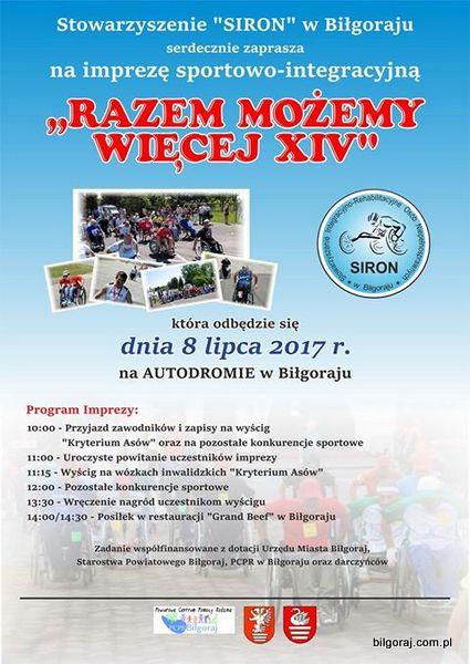 Impreza integracyjna dla osób niepe³nosprawnych.