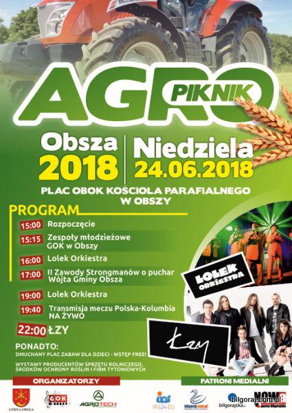 Agro-Piknik w Obszy