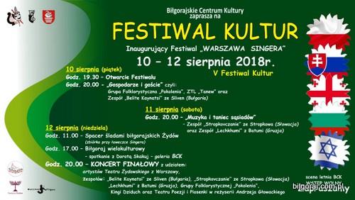 """Festiwal Kultur inauguruj±cy Festiwal """"Warszawa Singera""""."""