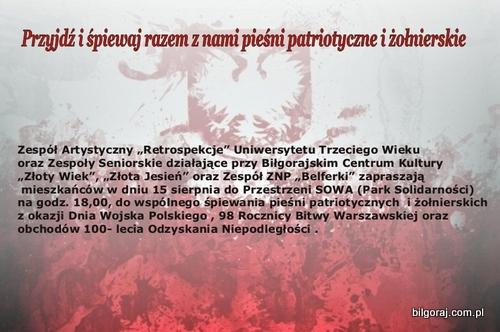 <p>Koncert patriotyczny w Bi³goraju.<br /></p>