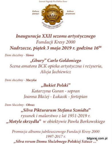 Inauguracja XXII sezonu artystycznego Fundacji Kresy 2000.