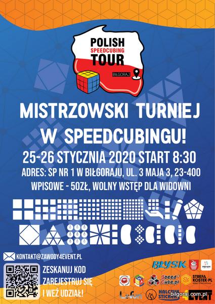 Mistrzostwa Polski w Speedcubingu. W tym roku ponownie zagoszcz± w Bi³goraju najlepsi zawodnicy z ca³ego kraju i bêd± uk³adaæ kostkê Rubika i jej ró¿ne warianty.