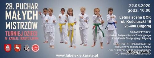 XXVIII Puchar Ma³ych Mistrzów w Karate Tradycyjnym.