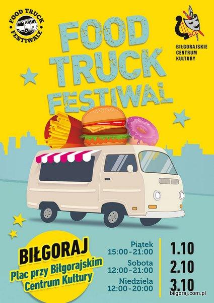 W dniach 1 - 3 pa¼dziernika br. do Bi³goraja zawitaj± najlepsze Food Trucki z ca³ej Polski z kuchniami z ró¿nych stron ¦wiata. ¯arciowozy zaparkuj± pod Bi³gorajskim Centrum Kultury.